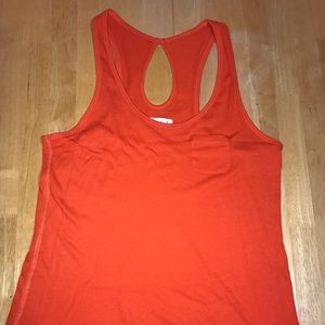 Abercrombie and Fitch Orange Tank